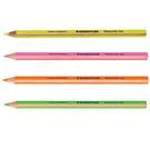 【奇奇文具】施德樓STAEDTLER MS12864 乾式螢光鉛筆/螢光筆  12支/盒 (四色可選)