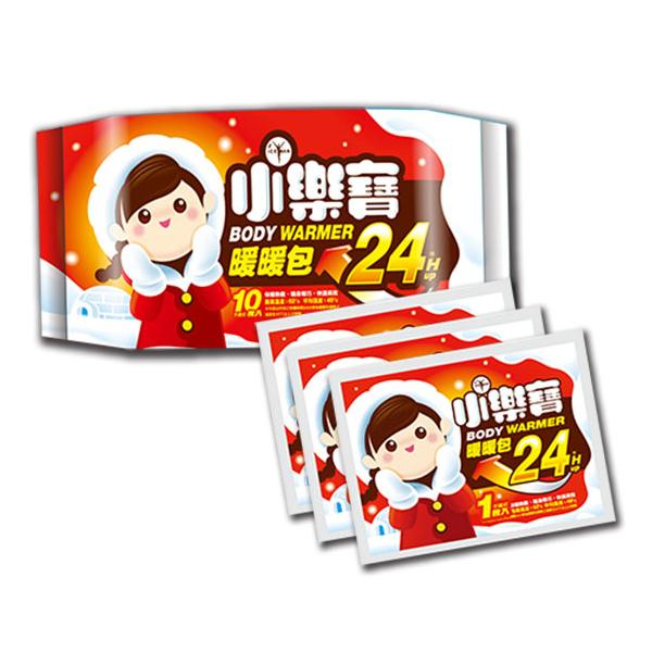 R&R 小樂寶24HR手握適暖暖包10入【康是美】