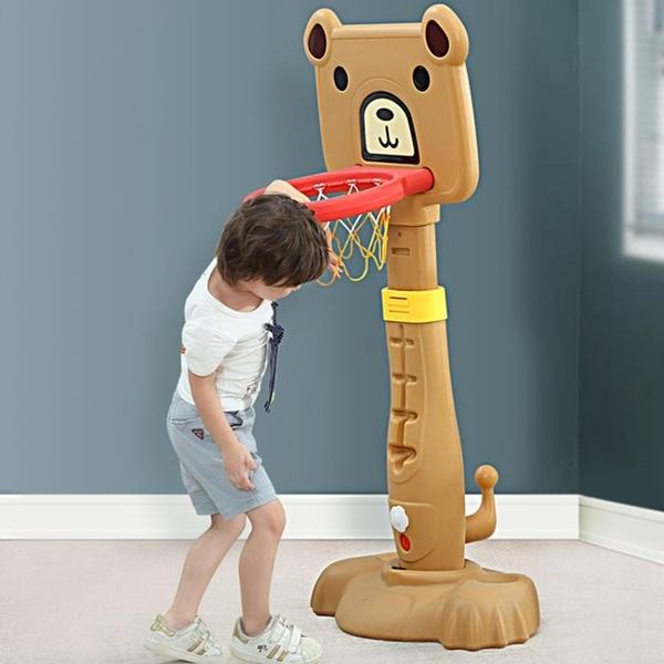 兒童籃球架寶寶可升降投籃架籃球框家用室內戶外運動男孩球類玩具  女神購物節 YTL