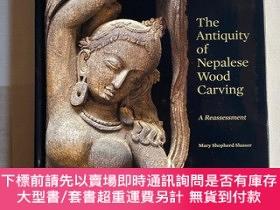 二手書博民逛書店尼泊爾罕見木雕 2010年 antiquity of Nepalese Wood carvingY66346