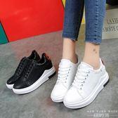 內增高鞋 小白鞋  正韓       系帶休閒