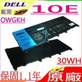 DELL電池(原廠)- 戴爾電池 LATITUDE 10E,0WGKH,0Y50C5,H91MK OWGKH , 30WH,3850MAH , (內接式)