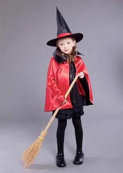 巫婆裝 巫師裝 80cm 雙層披風+緞帶帽子 套裝出貨 雙面披風 披風 披肩 死神 吸血【塔克】