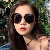 新款墨鏡女偏光太陽眼鏡女韓版潮圓臉防紫外線太陽鏡Mandyc