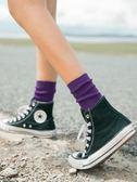 長襪子女中筒襪韓版學院風純棉堆堆襪韓國薄春秋冬潮個性百搭秋季 喵小姐