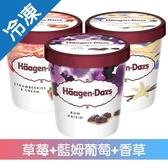 哈根達斯 品脫TOP經典超值組 (473ml*3入/組)【愛買冷凍】