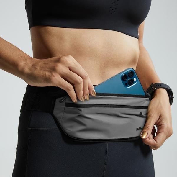 馬拉松裝備運動腰包男多功能跑步腰帶女貼身隱形防水手機袋戶外包 coco