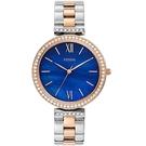FOSSIL 魅力海洋風情手錶(ES4640)-藍/39mm