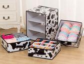 內衣收納盒布藝抽屜式收納箱內衣盒