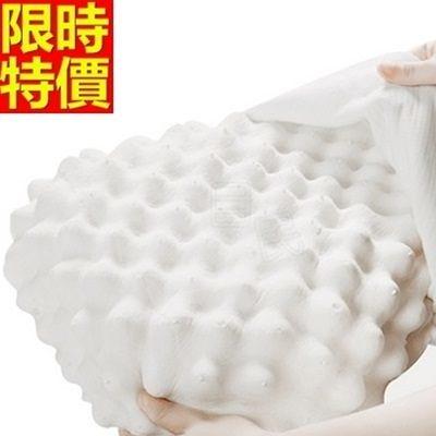 乳膠枕-護頸椎保護助眠無壓力天然乳膠枕頭68y39【時尚巴黎】