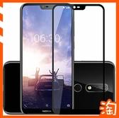 諾基亞3.1 Plus Nokia 6.1 Plus/5.1 Plus滿版全膠保護貼9H鋼化膜全屏熒幕保護膜防刮花熒幕貼