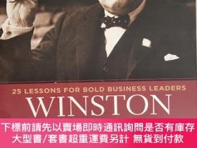 二手書博民逛書店Winston罕見Churchill, CEO:25 Lessons for Bold Business Lead