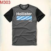 HCO Hollister Co. 男 當季最新現貨 T-SHIRTHCO M303