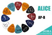 小叮噹的店- PICK 彈片 12生肖 (買1送1) ALICE AP-B 木吉他 烏克麗麗 電吉他