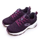 LIKA夢 LOTTO 增高厚底美型健走鞋 EASY WEAR 系列 葡萄紫 1197 女