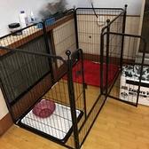 寵物柵欄寵物圍欄中型大型犬狗圍欄室內兔子籠泰迪金毛狗籠防護欄