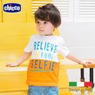 chicco-相信自己撞色短袖T恤...