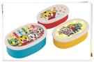 巧虎 保鮮盒 便當盒 橢圓  3入一組 日本製 奶爸商城 367830