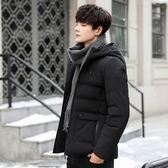男士韓版潮流戶外棉衣 加厚棉冬裝型男棉服 男款冬天加絨個性外套 男生冬天加厚保暖時尚外衣