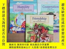 二手書博民逛書店friendship、humility、perseverance