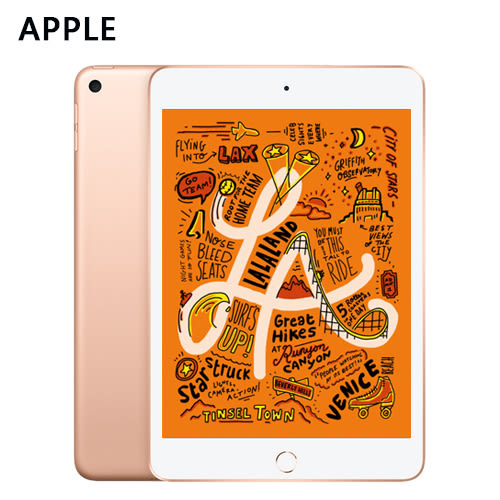 【Apple】2019 iPad mini 5 WiFi 64GB 7.9吋 平板 金色