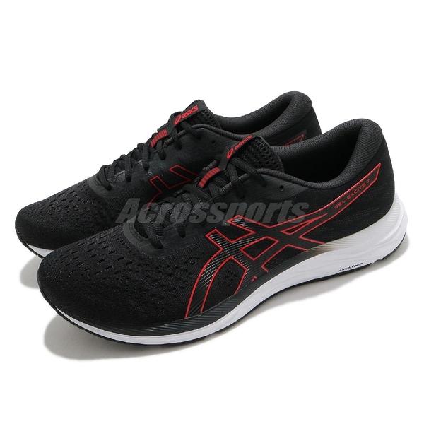 Asics 慢跑鞋 Gel-Excite 7 男鞋 黑 紅 基本款 亞瑟士 運動鞋【ACS】 1011A657004
