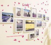 簡約現代照片墻組合客廳臥室裝飾創意懸掛畫框相片墻相框掛墻梗豆物語
