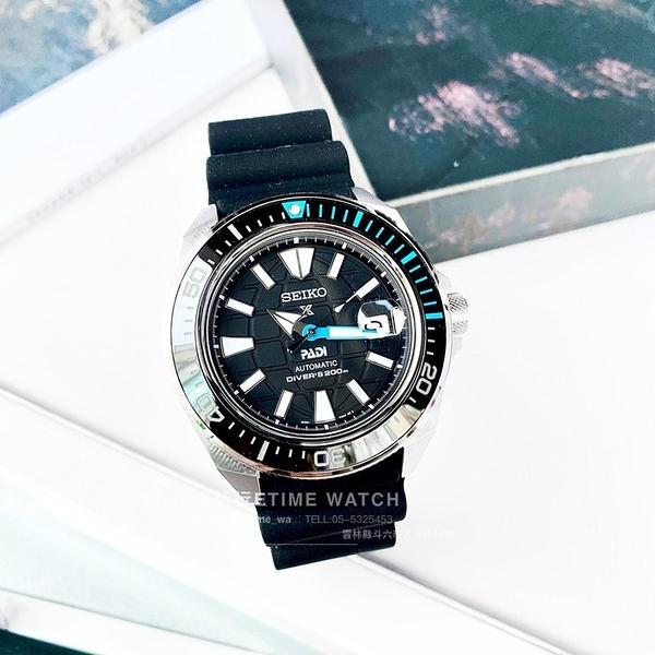 SRPG21K1 4R35-03W0I SEIKO PADI聯名系列 潛水錶 PROSPEX 機械錶 武士