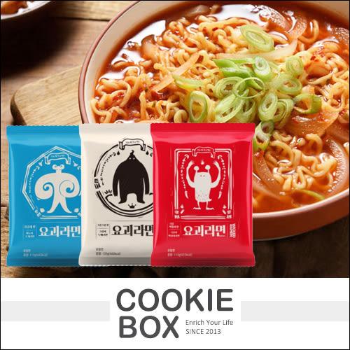 韓國 OTK 妖怪 拉麵 泡麵(3款) 湯炒年糕 義式蛤蜊 奶油味 孔劉 推薦 *餅乾盒子*