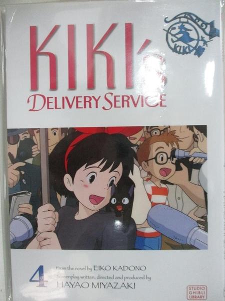 【書寶二手書T1/少年童書_C81】Kiki's Delivery Service 4_Miyazaki