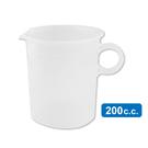 力銘量杯200cc 刻度量杯 透明量杯 烘培 尖嘴塑膠量杯 【台灣製】