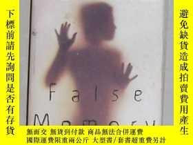 二手書博民逛書店英語原版罕見False Memory by Dean Koont