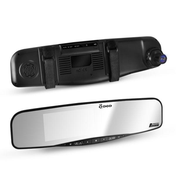 黑熊館 DOD RX400W 1080p GPS 後視鏡型行車記錄器 eMap語音電子地圖 支援倒車顯影功能