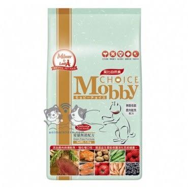 Mobby 莫比 鹿肉鮭魚 愛貓無穀配方 3kg X 1包