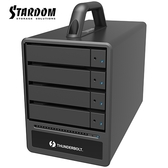 STARDOM ST4-TB3-B 3.5吋/2.5吋 Thunderbolt3 4bay 磁碟陣列外接盒