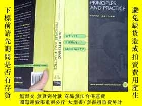 二手書博民逛書店ADVERTISING:PRINCIPLES罕見AND PRAC