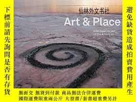二手書博民逛書店【罕見】Art & place: Site-specific a