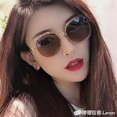 INS墨鏡新款潮女網紅款復古眼鏡太陽鏡GM男開車專用防紫外線 檸檬衣舍
