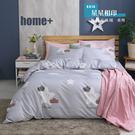 【BEST寢飾】雲絲絨 鋪棉兩用被床包組 單人 雙人 加大 特大 均一價 星星相印 舒柔棉 台灣製造