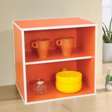 【Hopma】二層櫃(亮橙)