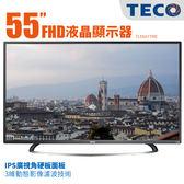 TECO東元 55吋Full HD低藍光平面 液晶電視 顯示器+視訊卡 TL55A1TRE + 基本安裝