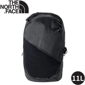 【The North Face 11L女單日休閒包《黑》】3KYB/雙肩背包/通勤背包/旅行背包
