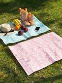 米蘭 春游便攜防水野餐墊戶外草地墊 野外防潮墊沙灘墊兒童墊子野餐布