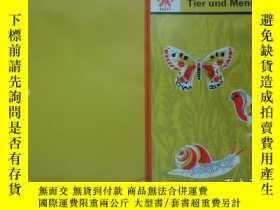 二手書博民逛書店pflanze罕見tier mensch 1 種植動物和人類1