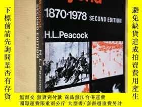 二手書博民逛書店英文原版罕見Europe and Beyond, 1870-1978 second edition by Herb
