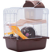 倉鼠籠-倉鼠籠子 小城堡 鼠籠雙鼠 雙層 小用品的超大別墅透明套裝買 艾莎嚴選YYJ