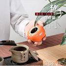 茶葉罐家用陶瓷密封罐柿柿如意創意擺件禮盒裝迷你便攜小儲茶罐 3c公社