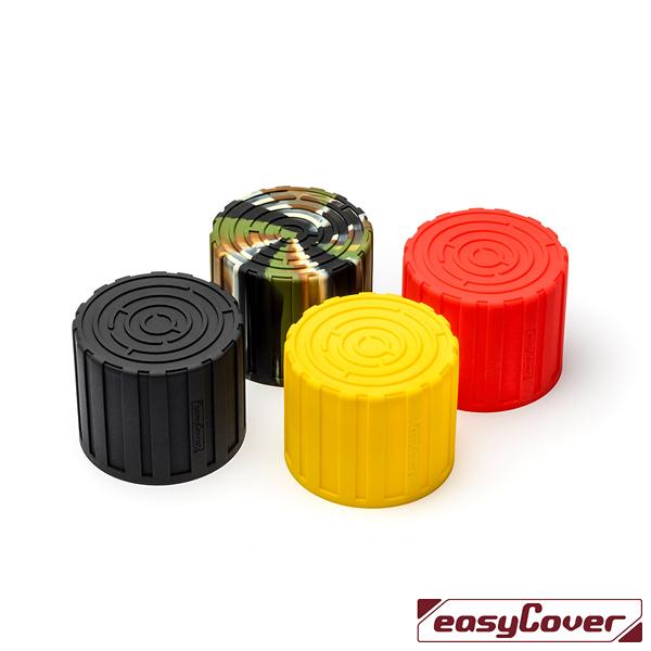 EGE 一番購】easyCover 金鐘套【Lens Maze】四色可選 矽膠鏡頭保護套 適用52-77mm【公司貨】