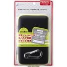 NEW2DSLL/3DSLL用Cyber日本原裝 輕量化EVA 主機硬殼包 可裝主機殼可收納卡帶 黑X青檸【玩樂小熊】
