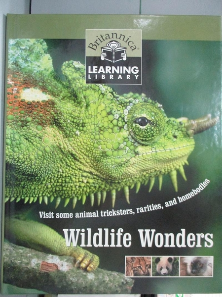 【書寶二手書T7/動植物_ZEF】Wildlife Wonders_Learning Library Britannic